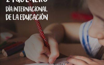 """""""Evolución en la educación"""". 24 de enero, Día Internacional de la Educación."""
