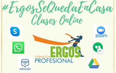 ERGOS sigue con las Clases «Online»