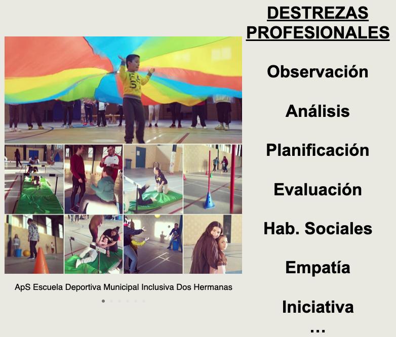 ApS «Escuela Deportiva Municipal Inclusiva para niñ@s con Autismo»